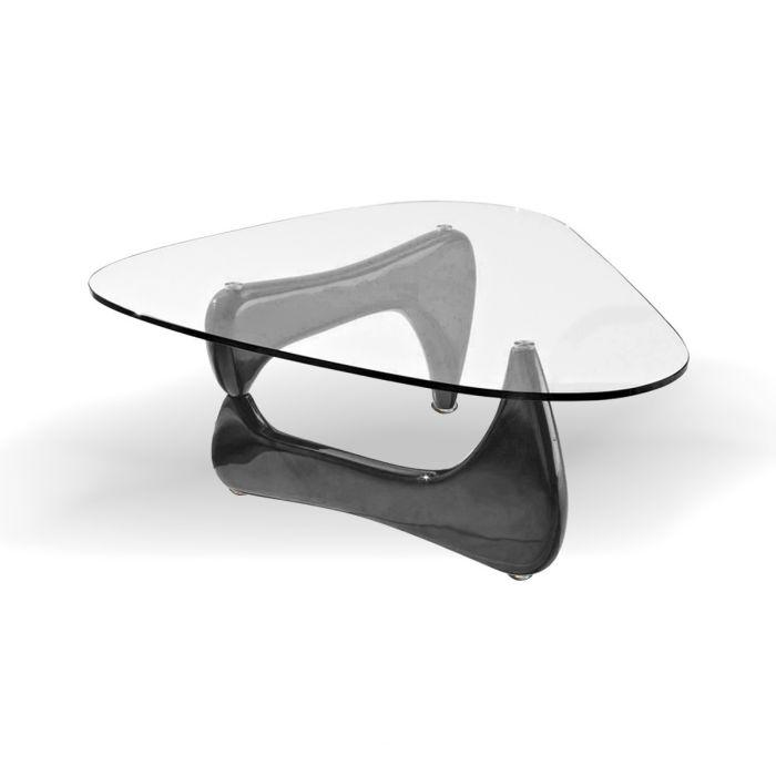 Noguchi Style Coffee Table Black Color